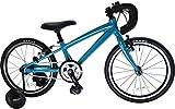 Number Bicycle(ナンバー バイシクル) SKATUR 18インチ アルミフレーム (3-5歳)幼児用自転車 NM17-SKT18BG ブルーグリーン
