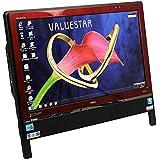 [ 中古一体型パソコン / WPS Office / 地デジ ] NEC VALUESTAR VN770/C Windows7 20インチ Core i5 M460 2.53GHz メモリ4GB HDD1TB レッド [ BDドライブ / 無線LAN / リモコン ]