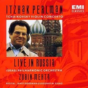 Live in Russia: Tchaikovsky Violin Concerto