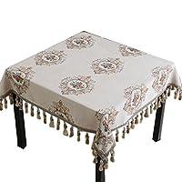WTL 正方形のテーブルクロスのテーブルクロス正方形のテーブルのホームテーブルクロス (色 : B, サイズ さいず : 60*60CM)