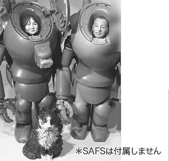 マシーネンクリーガー Ma.K.022 Mr.,Mrs. and Uran Yokoyama Family head set 1/20 組立キット