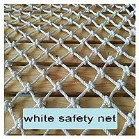 WWWANG 子どもたちは保護のセーフティネット白い装飾的なネットアウトドアホワイト安全ネットが服ネット子供の階段保護ネットの製品ネット家庭猫ネット幼稚園の遊び場ハンギング秋 (Color : Mesh 5cm rope 6mm, Size : 1x10m)
