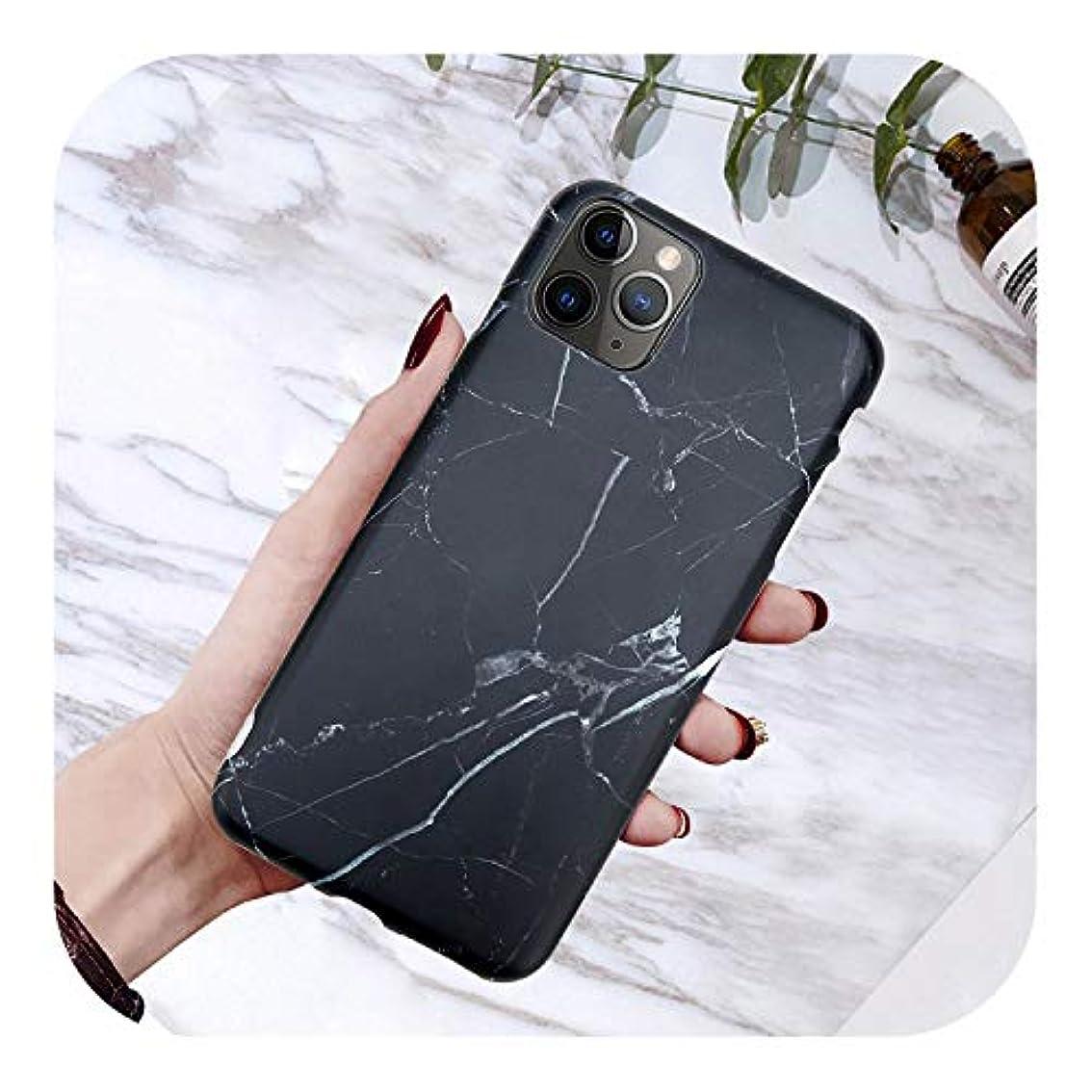 懐疑的かんたん牧師スマホケースiPhone 6 6 s 7 8プラスのための電話ケースiPhone 11 Pro X XS Max XRシェル用の豪華な光沢の花崗岩の石大理石のテクスチャカバー-7114-For iPhone 11