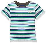 [ザ・ノース・フェイス] Tシャツ ショートスリーブボーダーティー キッズ ミックスグレー 日本 110 (日本サイズ110 相当)