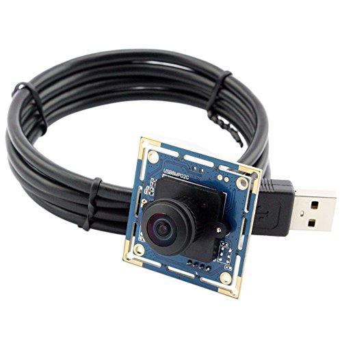 ELP ウェブカメラ 180度魚眼レンズ...