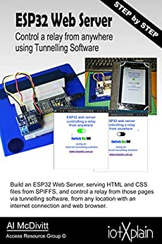 ESP32 Web Server control a relay from anywhere using Tunnelling Software by [McDivitt, Al ]