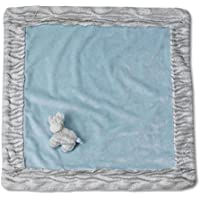 Nat and Jules Blanket and Zebra Rattle Set, Blue by Nat and Jules [並行輸入品]