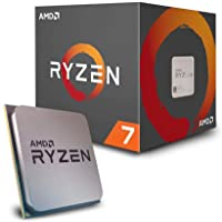 AMD CPU Ryzen 7 2700 with Wraith Spire (LED) cooler YD2700BB…