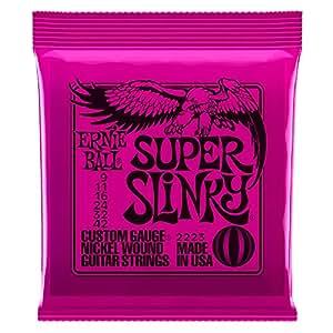 【正規品】 ERNIE BALL ギター弦 スーパー (09-42) 2223 SUPER SLINKY