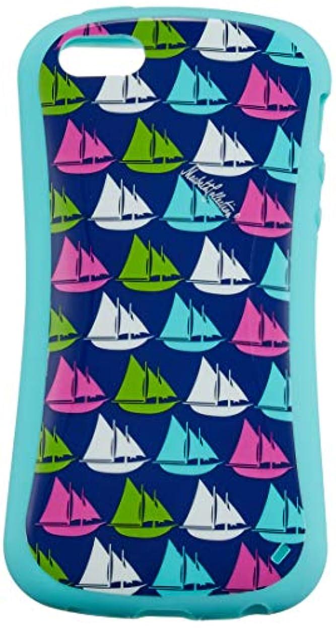 超えるカフェ真夜中【日本正規代理店品】 Merkury Innovations iPhone5/5s専用 Macbeth Couture Infinity Sail Boats TPU Case ブルー MC-PH501-ISB