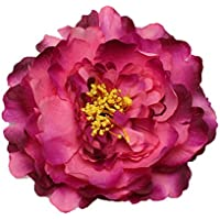 RoyaLily 4.7'' Poney Flower Wedding Hair Accessories Festival Hair Clips and Pin Party Brooch