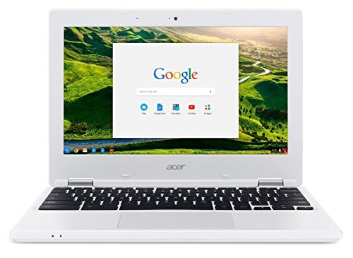 Acer Chromebook CB3-131-C3SZ クロームブック/ 11.6inch HD (1366x768) / Intel Celeron N2840 (Dual-Core Processor) / 2GB RAM (DDR3L) / 16GB Solid State Drive (eMMC) / Chrome OS/ White [並行輸入品]