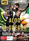 UFC 194: Aldo vs McGregor by Jose Aldo