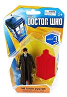 Doctor Who, Wave 3 Articulated Action Figure, The Tenth Doctor, 3.75 Inches [並行輸入品]