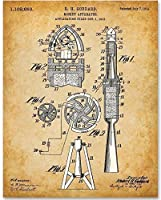 Goddard Rocket Apparatus - 11x14 Unframed Patent Print - Great Gift for Space Fans or Astronomers [並行輸入品]