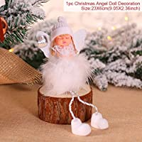 Christmas Huiran メリークリスマス木製サンタクロースヘラジカ装飾クリスマスツリーの装飾ホーム 2019 ノエルクリスマス新年 2020