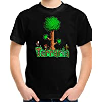 Terraria Game Play Kids T Shirt