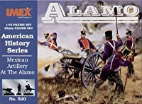 Mexican Artillery Alamo American History Figures Set 1/72 Imex by Imex
