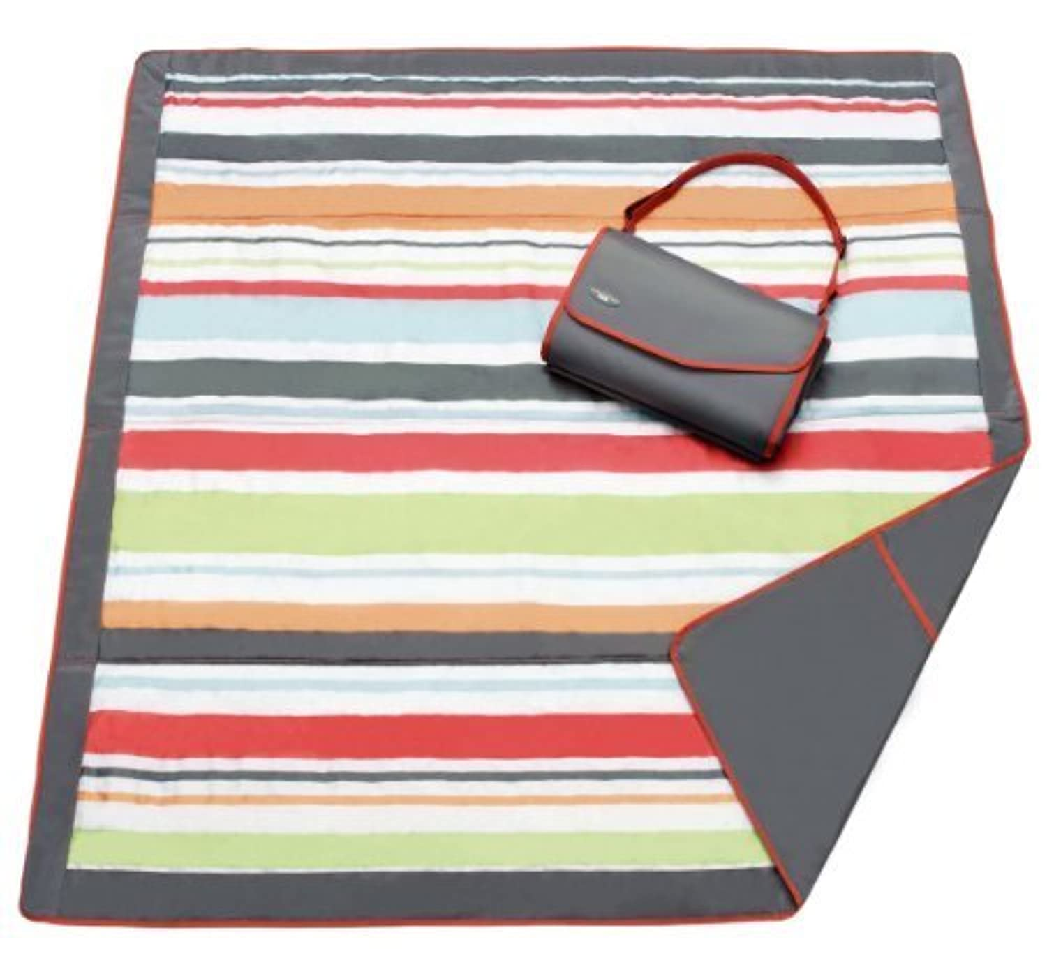 JJ Cole Collections All-Purpose Blanket, Gray/Red by JJ Cole [並行輸入品]