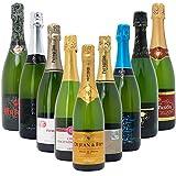 ★【タイムセール】本格シャンパン製法だけを厳選した泡9本セット((W0S906SE))(750mlx9本ワインセット)が6,624円!