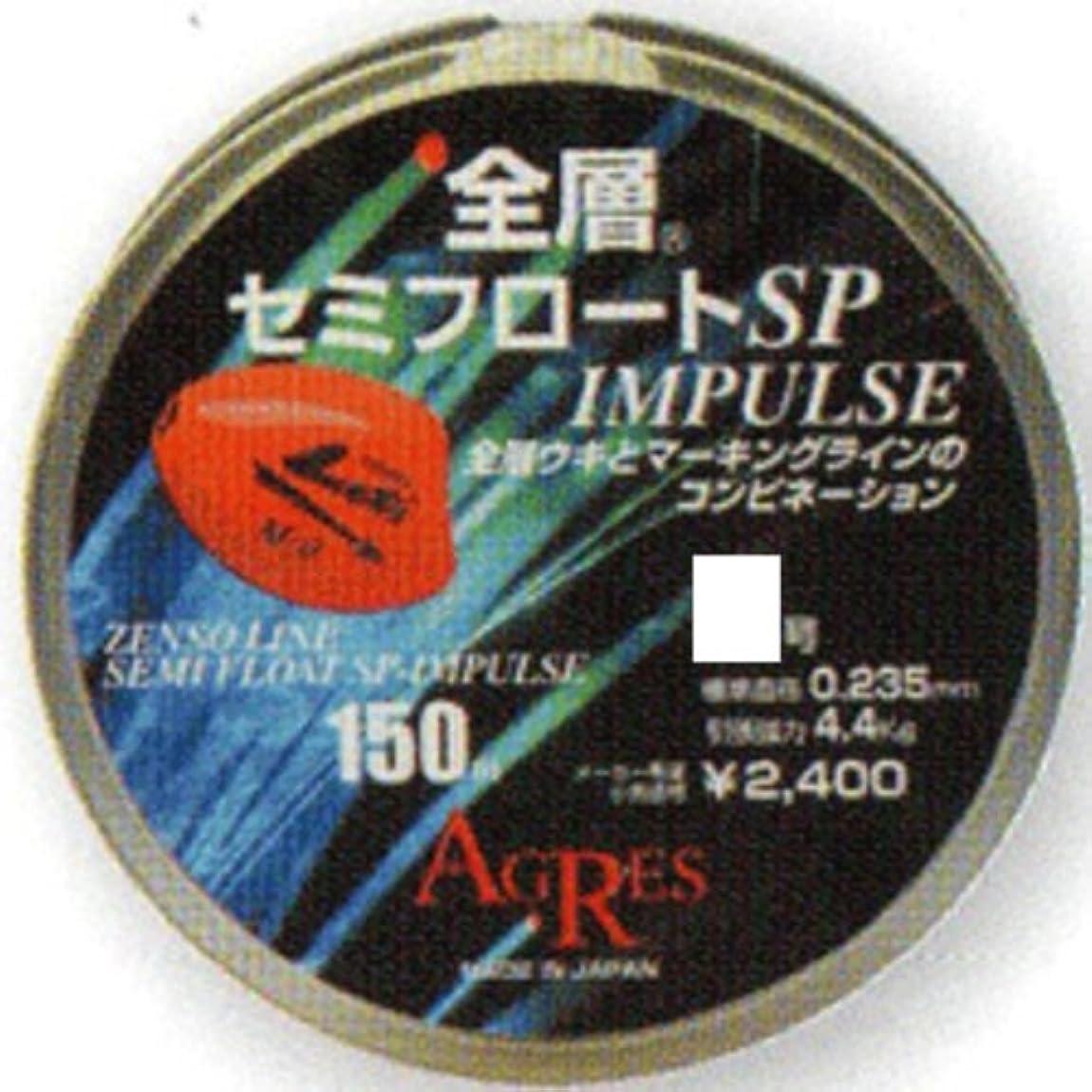 地質学不毛の非アクティブキザクラ(kizakura) ライン 全層セミフロート SP-IMPULSE 150m 1.75号
