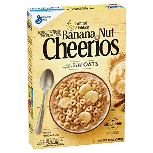 General Mills cheerio Banana Nut ゼネラルミルズ チエリオ バナナナッツ朝食シリアル 340gx2個 並行輸入品