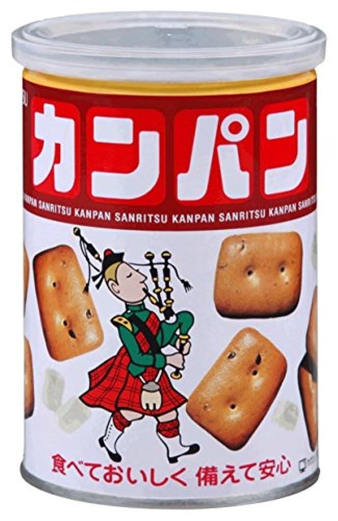 アラバマ悪化する乳白色三立製菓 缶入カンパン 100g