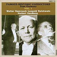 Famous Historic Conductors 1