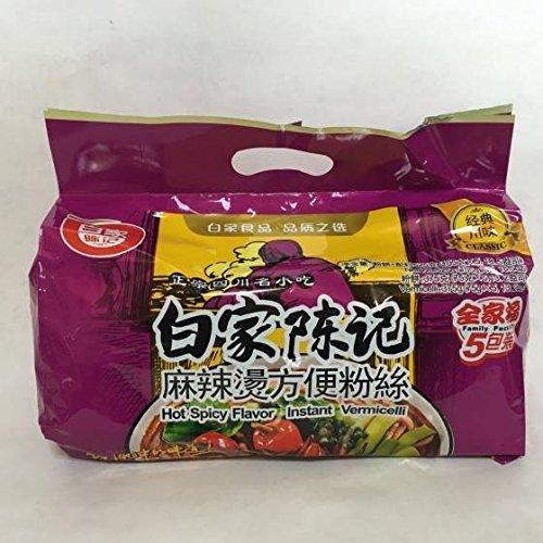 白家麻辣?粉糸 はるさめ 5食入 インスタントラーメン 中華食材 525g