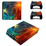 SKINOWN® PS4 Pro Skins Sticker Vinly Decal Cover for Sony PS4 PlayStation 4 Pro Console and Controll