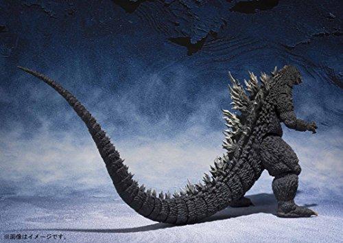 S.H.MonsterArts ゴジラ×メカゴジラ ゴジラ (2002) 約155mm PVC&ABS製 塗装済み可動フィギュア