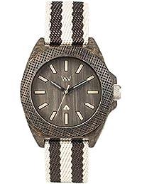 [ウィウッド]WEWOOD 腕時計 コットンファイバー PHOENIX 38 WENGE GREY 9818138 【正規輸入品】