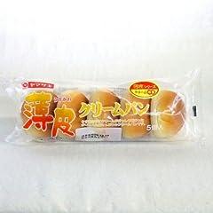 ヤマザキパン 薄皮クリームパン 5個入り×3個 山崎製パン横浜工場製造品