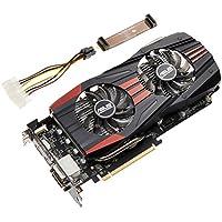 ASUSTek社製 AMD Radeon R9 270X GPU搭載ビデオカード (オーバークロックモデル) R9270X-DC2T-2GD5