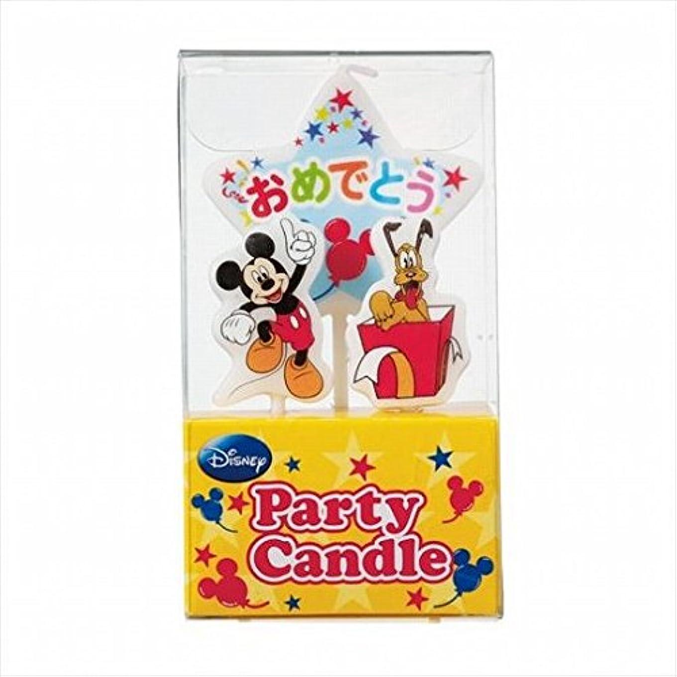 作動するに対して道徳kameyama candle(カメヤマキャンドル) ディズニーパーティーキャンドル【ケーキ用キャンドル】 「 ミッキー 」(A3120010)