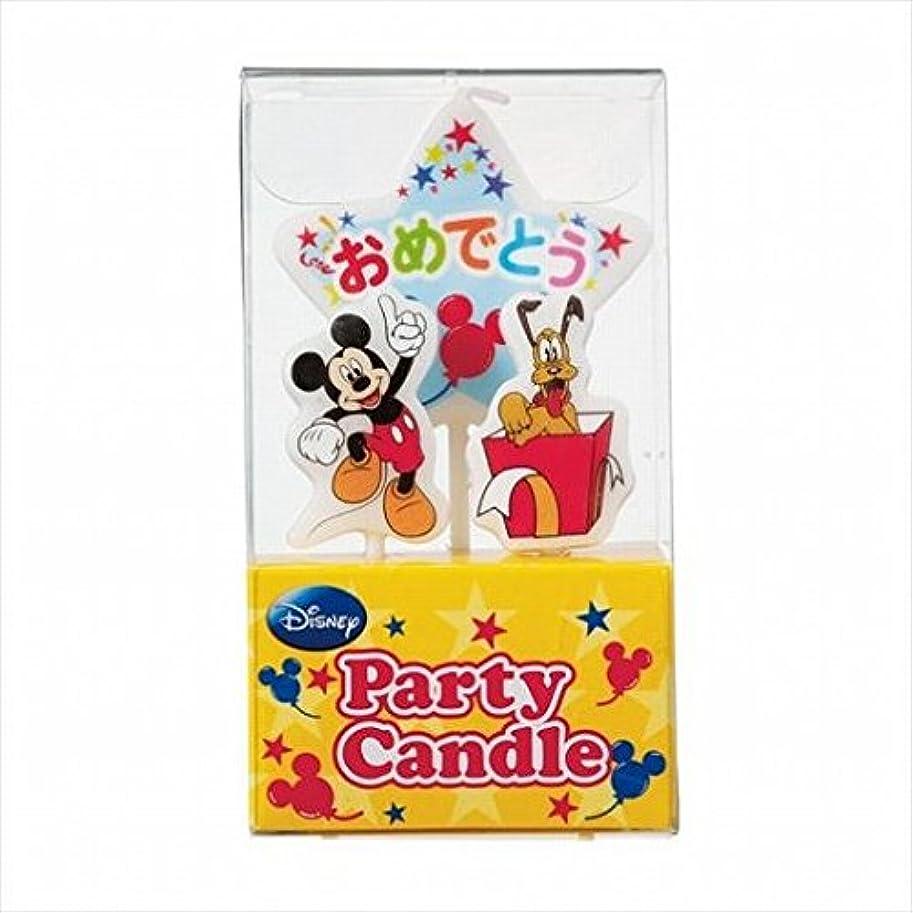 相対的厄介な正午kameyama candle(カメヤマキャンドル) ディズニーパーティーキャンドル【ケーキ用キャンドル】 「 ミッキー 」(A3120010)