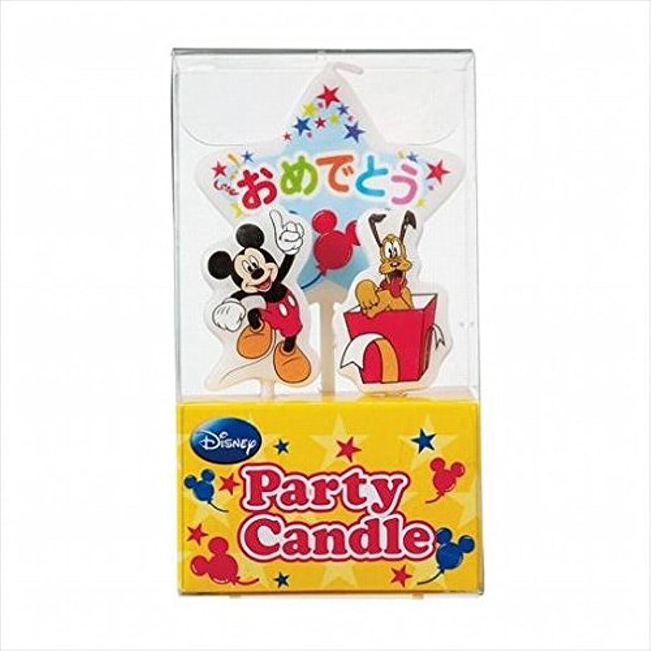 まぶしさアイザック検閲kameyama candle(カメヤマキャンドル) ディズニーパーティーキャンドル【ケーキ用キャンドル】 「 ミッキー 」(A3120010)
