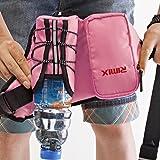 Ezyoutdoor Funny RunningベルトBum Bag for ridding犬ウォーキング、ハイキングウエストバッグCan Hold iphone6Plus 5.5インチGear with水ボトルホルダー