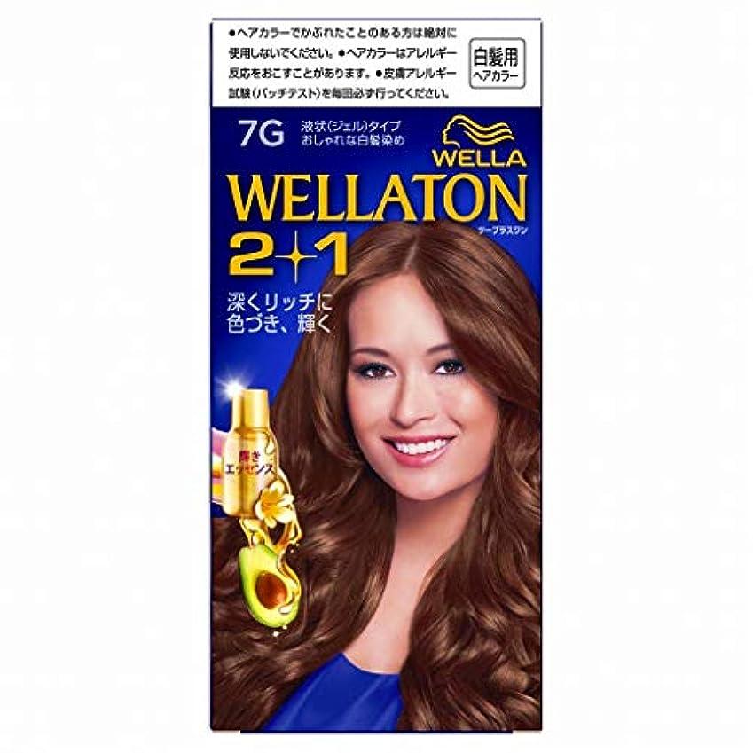 振り返る西部破裂ウエラトーン2+1 白髪染め 液状タイプ 7G [医薬部外品] ×3個