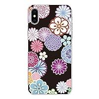 Carine iPhone 5s 薄型 クリア スマホケース スマホカバー sc122(A) 和花 花 フラワー アイフォン5s スマートフォン スマートホン 携帯 ケース アイホン5s ハード プラ スマフォ カバー