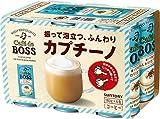 サントリー カフェ・ド・ボス ふんわりカプチーノ コーヒー 180g缶 ×6本
