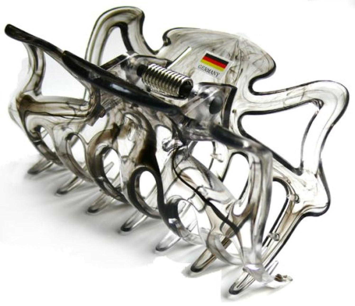 ラッカスプレフィックス曲げるドイツクリップ 大 黒
