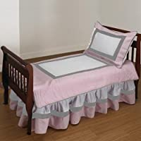 Baby Doll Bedding Classic II Toddler Bedding Set, Pink by BabyDoll Bedding