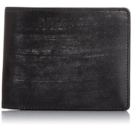 [ゾンネ] SONNE 二つ折り財布(小銭入れ付) SOW002A BK/PP (BLACK/PURPLE)