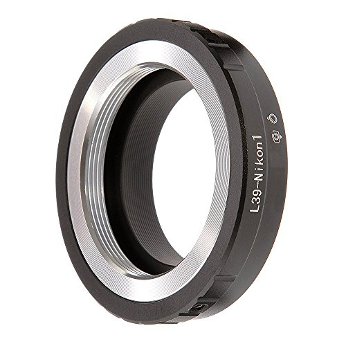 (フォトガ) FOTGA ® レンズマウントアダプター、L39-Nikon1 L39 39mm レンズ変換 ニコン Nikon 1マウントカメラ J1、 J2、 J3 、V1、 V2、 V3に対応