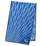スポーツタオル ミズノ H8002 ブルー 約34×110cm SH800201