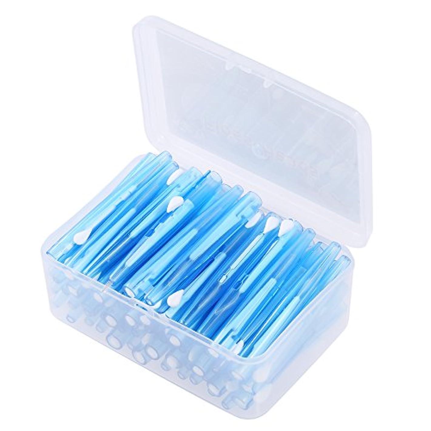 Decdeal デンタルフロスピック 60個/箱 デンタルブラシ ディープクリーンヘルスケア用 歯ティルトピック リフィルインター
