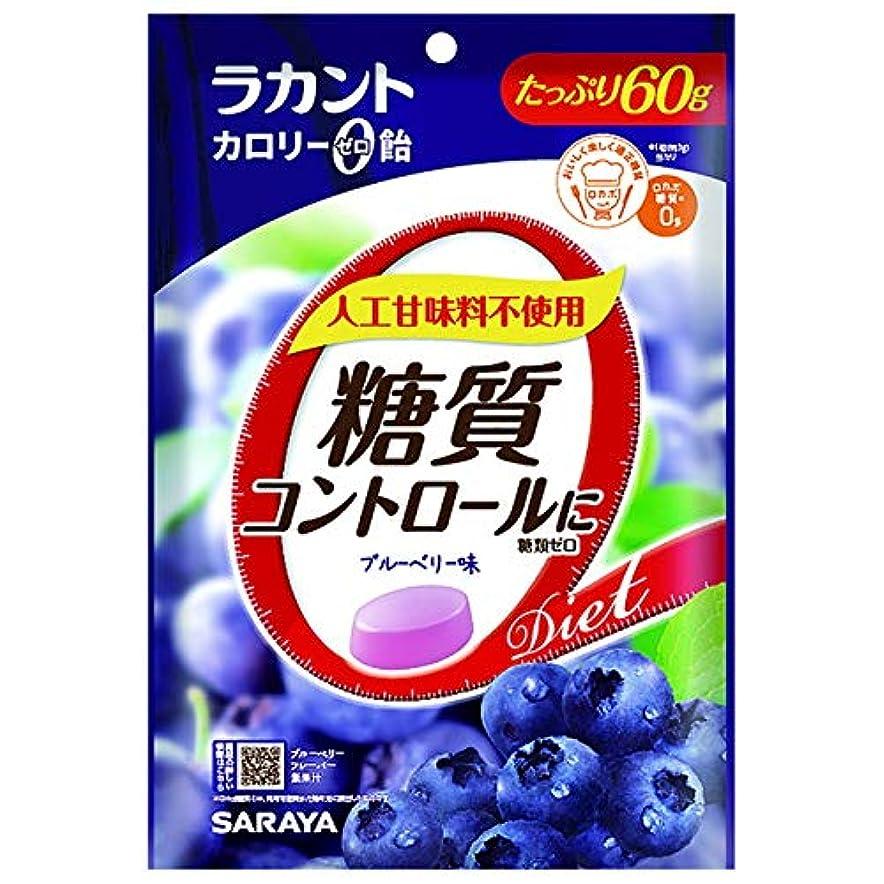 バスルームびっくり将来のラカント カロリーゼロ飴 ブルーベリー 60g【3個セット】
