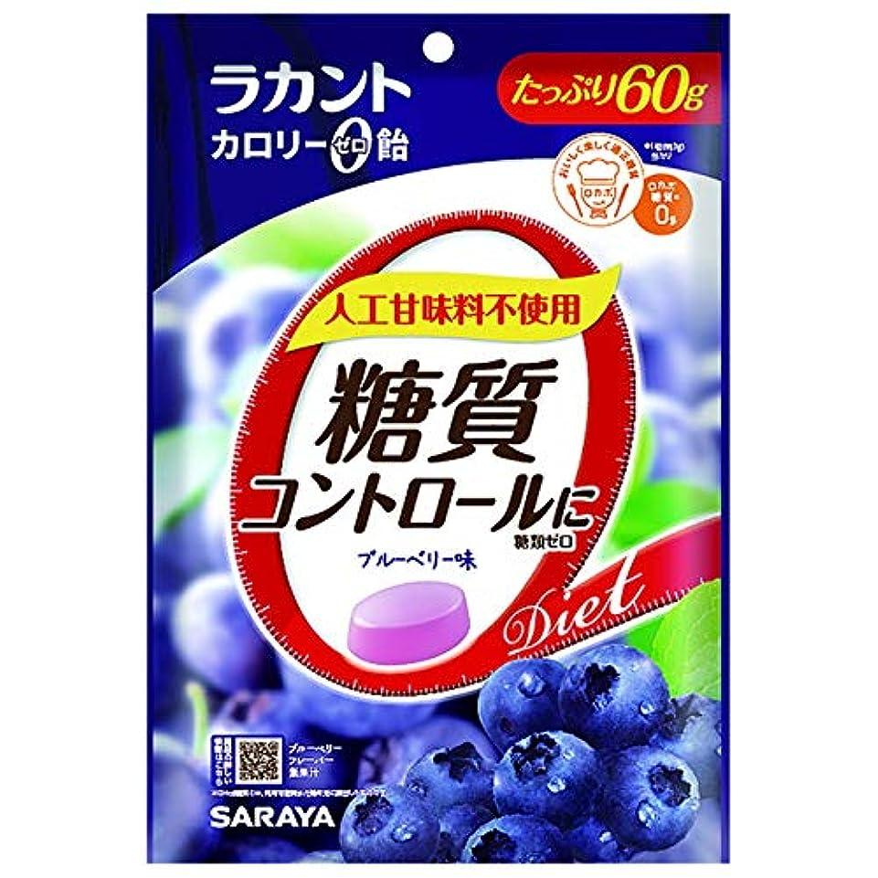 花外交問題斧ラカント カロリーゼロ飴 ブルーベリー 60g【3個セット】