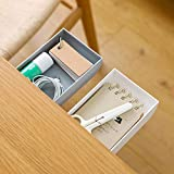 TuTuShop Under Table Drawer, Hidden Self-Adhesive Pencil Tray Drawer,Under Desk Holder Storage Box, Stationery Pencil Storage
